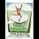 1951 Clemson vs Pacific College Football Program