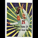1953 Fresno State vs San Jose State College Football Program
