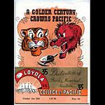 1950 Loyola vs Pacific College Football Program