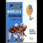 1968 Minnesota vs Nebraska College Football Program