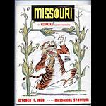 1969 Missouri vs Nebraska College Football Program