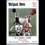 1967 North Carolina vs Duke College Football Program
