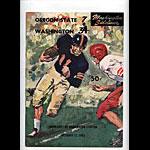 1963 Oregon State vs Washington College Football Program