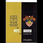 1967 Pittsburgh vs Army College Football Program