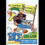 1962 Rice vs Oregon College Football Program