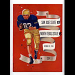 1953 San Jose State vs North Texas State College Football Program