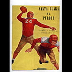 1939 Santa Clara vs Purdue College Football Program