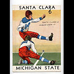 1939 Santa Clara vs Michigan State College Football Program