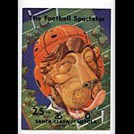 1940 Santa Clara vs Loyola College Football Program