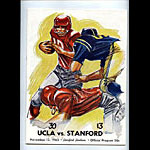 1965 Stanford vs UCLA College Football Program