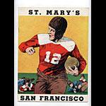 1937 St Marys vs SFU College Football Program