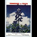 1965 Tennessee vs Tulsa  Bluebonnet Bowl College Football Program