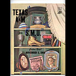1966 Texas A&M vs SMU College Football Program