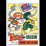 1962 Texas vs Oregon College Football Program