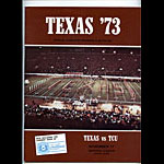1973 Texas vs TCU College Football Program