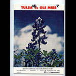 1964 Tulsa vs Ole Mississippi Bluebonnet Bowl College Football Program
