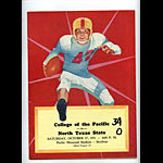 1951 College of the Pacific vs North Texas State College Football Program