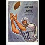 1964 Cal vs Illinois College Football Program