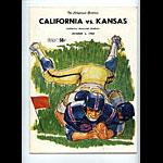 1965 Cal vs Kansas College Football Program