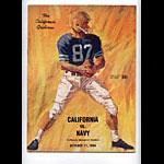 1964 Cal vs Navy College Football Program
