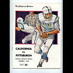 1966 Cal vs Pittsburgh College Football Program