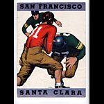 1936 University of San Francisco vs University of Santa Clara College Football Program