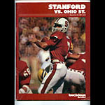 1981 Stanford vs Ohio State College Football Program