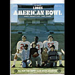 1975 American Bowl College Football Program