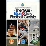 1968 Blue and Gray Classic College Football Program