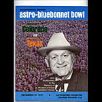 1975 Colorado vs Texas Bluebonnet  Bowl 17 College Football Program