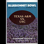 1977 Texas A&M vs USC Bluebonnet  Bowl 19 College Football Program