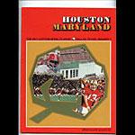 1977 Houston vs Maryland Cotton Bowl College Football Program