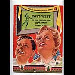 1951 East-West All Star  Program College Football Program