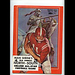 1963 North-South College All-Star Program College Football Program