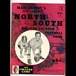 1970 North-South College All-Star  Program College Football Program