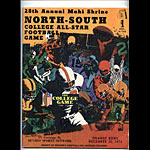 1973 North-South College All-Star Game College Football Program