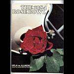 1984 UCLA vs Illinois Rose Bowl College Football Program