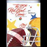1989 USC vs Michigan Rose Bowl College Football Program