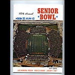 1967 Senior Bowl College Football Program