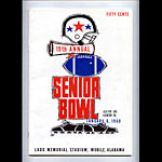 1968 Senior Bowl College Football Program
