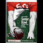 1971 Senior Bowl College Football Program