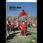 1978 Senior Bowl College Football Program