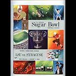1965 LSU vs Syracuse 31st Sugar Bowl College Football Program