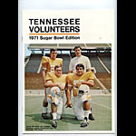 1971 Tennessee 37th Sugar Bowl Media Guide