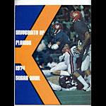 1974 University of Florida 41st Sugar Bowl Media Guide