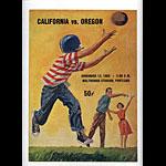 1965 Cal Bears vs Oregon College Football Program