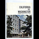 1966 Cal Bears vs Washington College Football Program