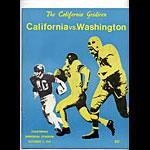 1969 Cal Bears vs Washington College Football Program