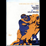 1970 Cal Bears vs UCLA College Football Program