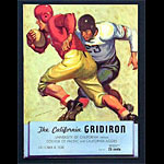 1938 Cal Bears vs Pacific Program College Football Program